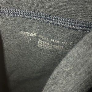 aerie Chill Cotton Gray leggings Size L
